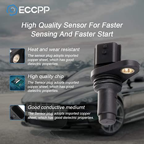 mostrar título original Detalles acerca de  /Nuevo Motor Sensor De Posición Del árbol De Levas Cmp Fit Cubo Sentra Versa NV200 tilda 07-14
