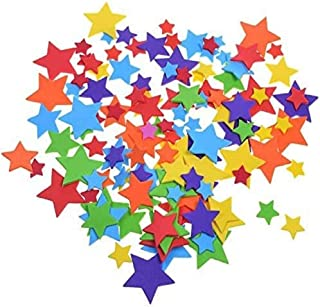 BCP 240 Pcs Self-Adhesive Foam Star Shapes Stickers for Craft Art Project