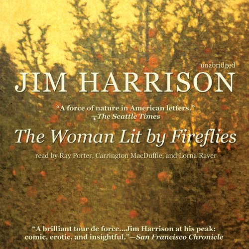The Woman Lit by Fireflies audiobook cover art