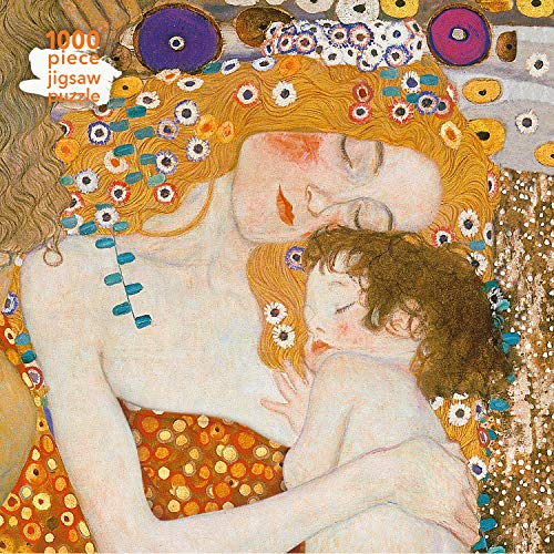 Adult Jigsaw Puzzle Gustav Klimt: Three Ages of Woman: 1000-piece Jigsaw Puzzles