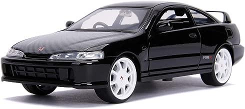 Jada JDM Tuners - 1995 Honda Integra Type R (Japan Spec) 1: 24 Scale Metals DIE-CAST Car, Glossy Black