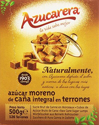 Azucarera - Azúcar moreno de cana integral en terrones - - 500 g - [pack de 4]