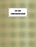 College Ruled Line Composition book: Quaderno americano a righe college ruled - 100 pagine - Formato grande / simile A4 / 8.5'x11'