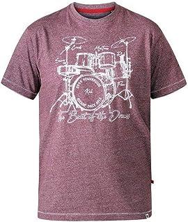 D555 Duke Men's Kingsize Blunt 'Drum Set' T-Shirt