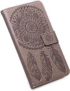 GOGME Case voor Samsung Galaxy S20 FE 5G/4G, [Luxe Romantische Gesneden Bloem] Flip Cover Lederen Portemonnee Telefoon Cas...