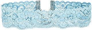 Floral Elastic Stretch Lace Choker Necklace (15 Colors, 5 Adjustable Sizes)