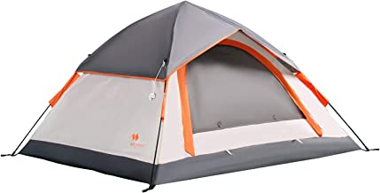 Mobihome 3 Person Tents for Camping, Instant Backpacking...