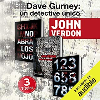 Pack David Gurney [Spanish Edition]                   By:                                                                                                                                 John Verdon,                                                                                        Javier Guerrero - translator                               Narrated by:                                                                                                                                 Pau Ferrer                      Length: 42 hrs and 48 mins     137 ratings     Overall 4.5