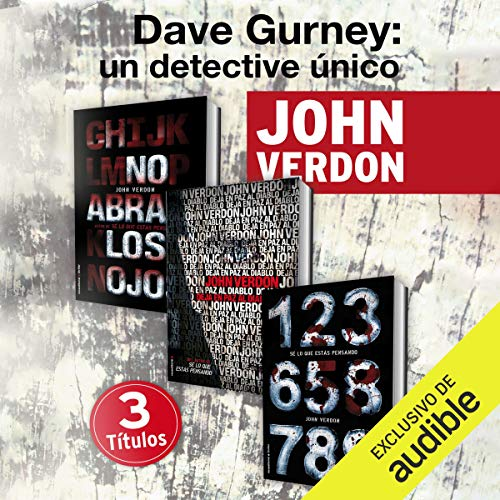 Pack David Gurney [Spanish Edition] Titelbild