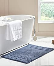 RT Designers Collection Erin 24 x 36 in. Cotton Bath Rug in Slate Blue