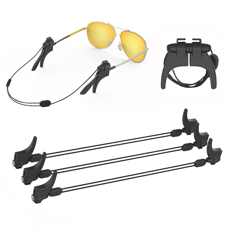 GlassesStrap Senose Fort Worth Mall 3 Pack Adjustable Glasses Retaine Super intense SALE Eye