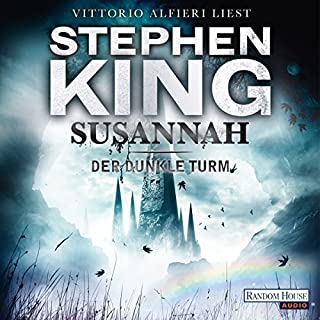 Susannah audiobook cover art