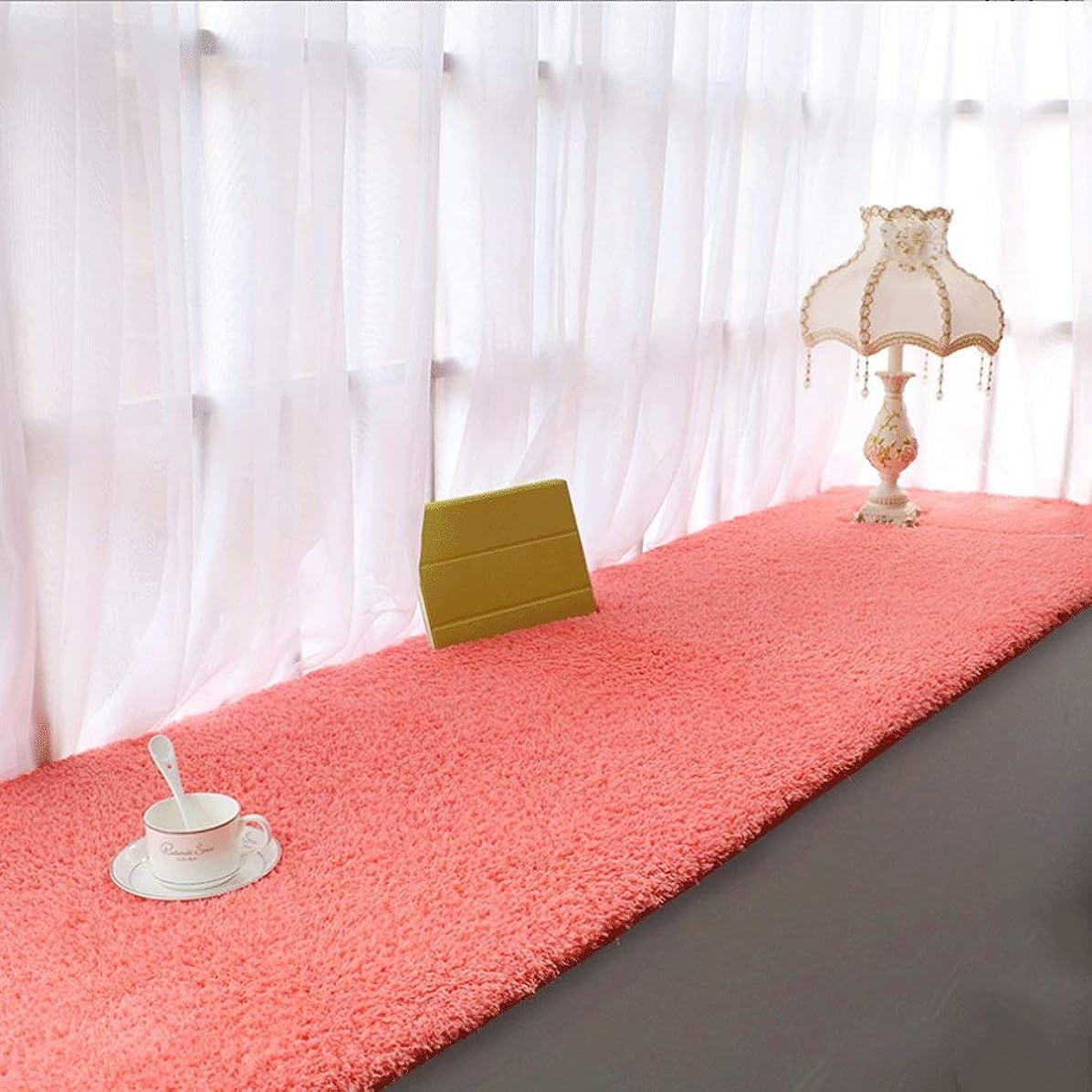 宴会ランドマークソーセージ出窓パッド/ヨーロッパ式バルコニーぬいぐるみカーペット/寝室畳クッション/座席ソファスリップコーブ/ソファベンチマット (Color : H, Size : 66×170CM)