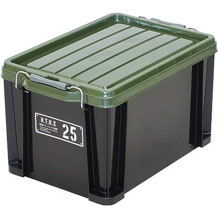 JEJアステージ 収納ボックス 日本製 積み重ね [Xシリーズ NTボックス #25] 幅29.5×奥行44×高さ26cm