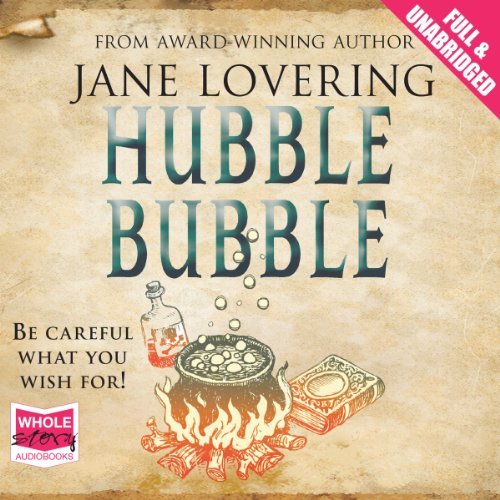Hubble Bubble audiobook cover art