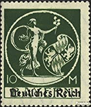 German Empire 137I Tested fine Used/Cancelled 1920 Bavaria-Farewell (Stamps for Collectors)