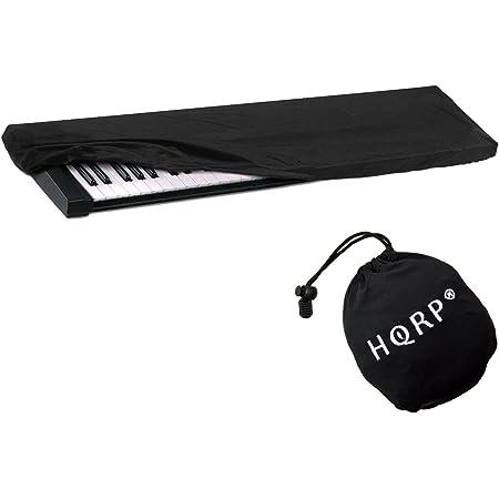 HQRP Funda de proteccion para teclado digital de 76/88-teclas Yamaha DGX-650 / DGX650 / DGX-650B / P-115 / P115 / P-115B / P115B / P-115WH piano