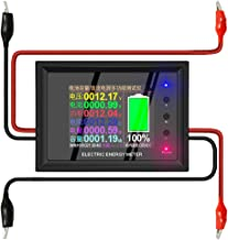 Sazoley 220V 0-30A Digital Multimeter 2.4-in Color Screen Electric Energy Meter Voltage/Current/Power/Energy/Capacity Test...