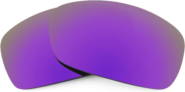 Revant Verres de Rechange pour Oakley Hijinx - Compatibles avec les Lunettes de Soleil Oakley Hijinx Violet Plasma Mirrorshield - Non Polarisés