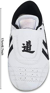 Taekwondoschoenen, Lichtgewicht Ademende Vechtsportschoenen voor Kinderen Tiener Taekwondo Sport Boksen Kung fu TaiChi
