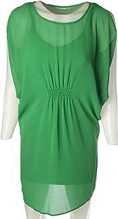 Naf Naf Casual Dresse for Women, Green