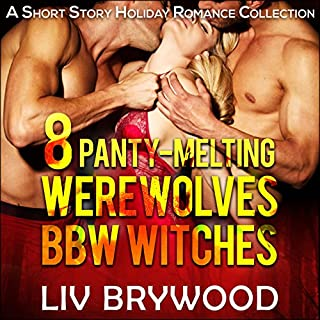8 Panty-Melting Werewolves and BBW Witches audiobook cover art