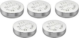 RENATA Lot de 5 Blisters de 1 Pile bouton oxyde argent X329 SR731SW