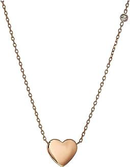 Engraveable Heart Necklace