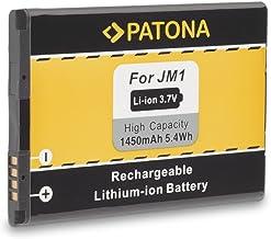Batería JM1 J-M1 para BlackBerry 3014 | 9380 | 9790 | 9850 | 9930 (Bold Touch) | Bold 9900 | Torch 9860 | Touch 9860(Monza) | Bold 9900 | Bold 9790 | Curve 9380 | Storm 3 | Torch 9850 y mucho más… [ Li-ion; 1450mAh; 3.7V ]