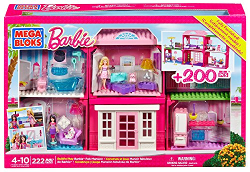 Barbie: Nueva Mansión  Mega Bloks 80149