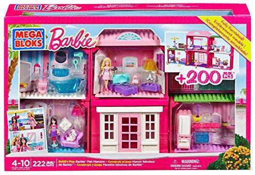 Barbie - Nueva Mansión Mega Bloks 80149