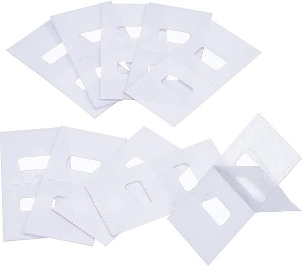 TOODOO Vertical Blind Repair Tabs Vertical Blind Vane Saver Clear 30 Pieces