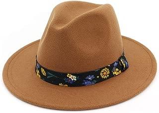 XinLin Du Wide Brim Autumn Female Fashion Top Hat Jazz Cap Winter Fedora Hat Artificial Wool Felt Caps 2018 Black Hats For Women