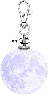 Moonlight Key Chain Pendant - Night Light Keychain for Men, Women, Kids, Girls, Boys