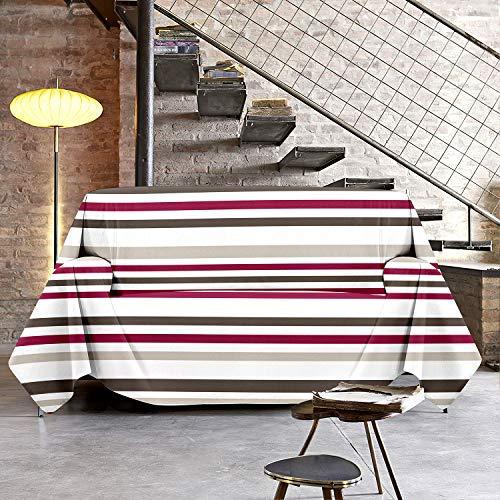 NuvolaNera Copriletto copritutto telo arredo con cotone – per soggiorno, camera da letto o pic nic...
