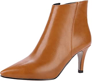Latasa Women's Pointed-Toe Ankle Dress Booties
