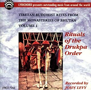 Tibetan Buddhist Rites From Bhutan 1 [Importado]