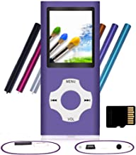 Tomameri - Portable MP3 / MP4 Player with Rhombic Button, Including a 16 GB Micro SD Card and Support Up to 64GB, Compact ... photo