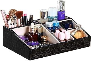 SMEJS Type de Stockage Boîte de Rangement pour cosmétiques Boîte de Rangement pour Bureau avec Coiffeuse