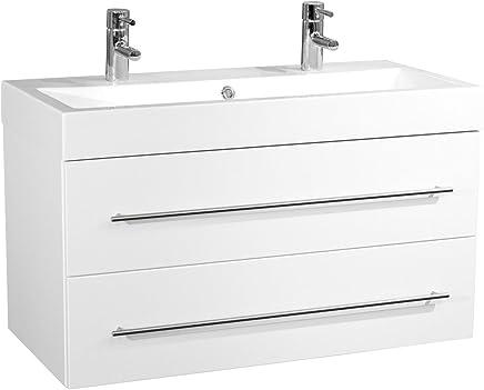 Amazon.fr : meubles vasque salle de bain 100 cm : Cuisine ...
