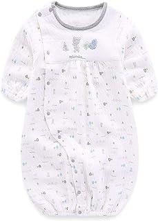 Boo.Kabee ベビー服 ロンパース ツーウェイオール 肌着 ふんわり柔らかい 新生児服 コットン100% 50-70CM BKB794H