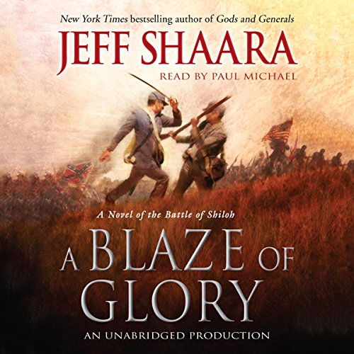 A Blaze of Glory audiobook cover art
