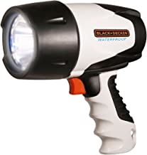 Black And Decker 3W Led Rechargeable Waterproof Spotlight