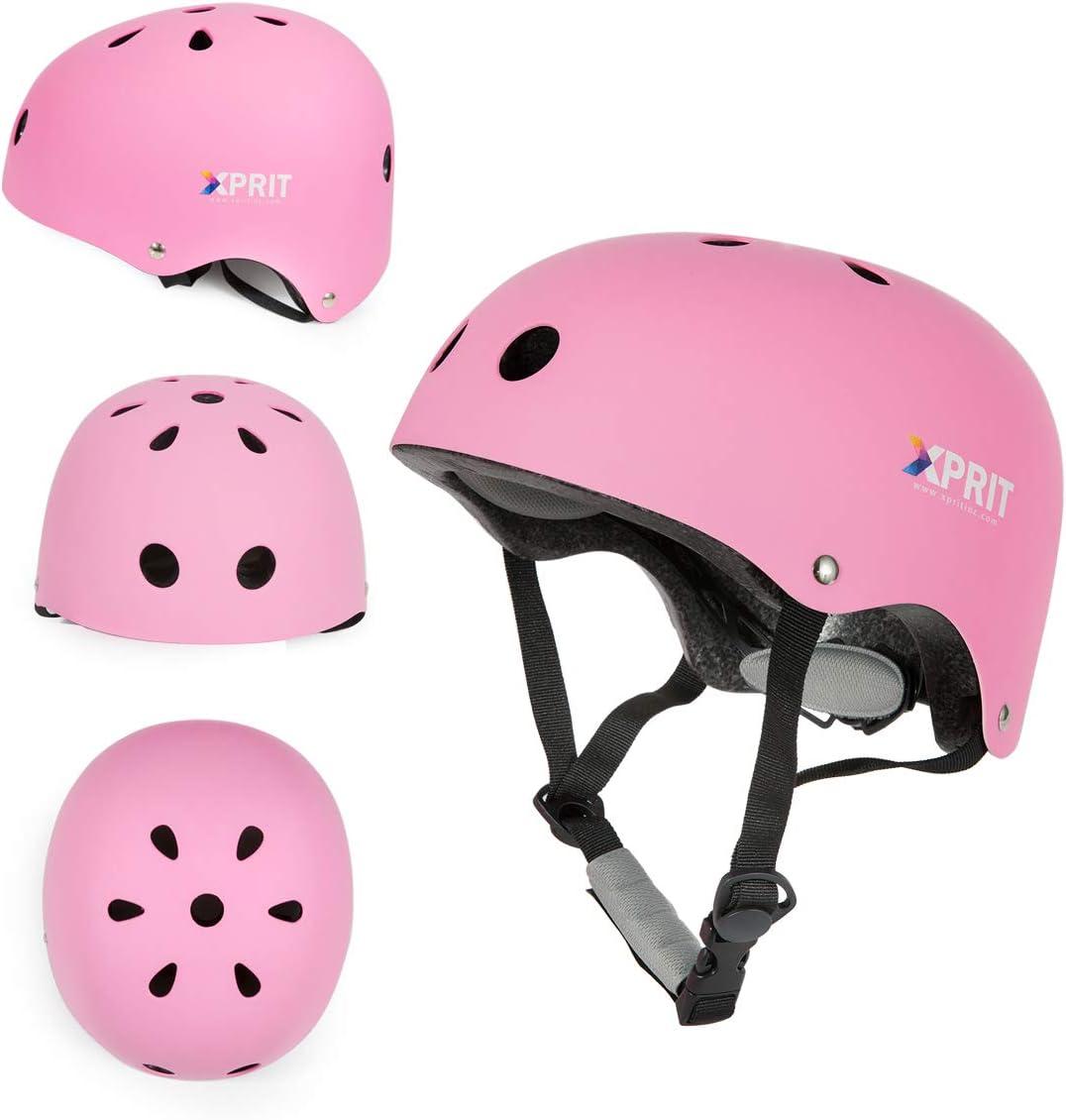 XPRIT Helmet for Kids Luxury goods Adults Skateboarding Helm Dedication Scooter Bike