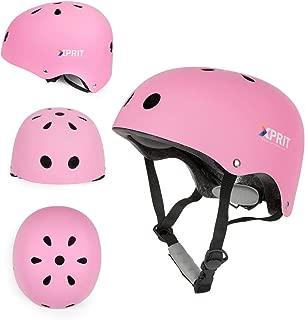 XPRIT Skateboarding, Scooter, Bike, Helmet w/Impact Resistance