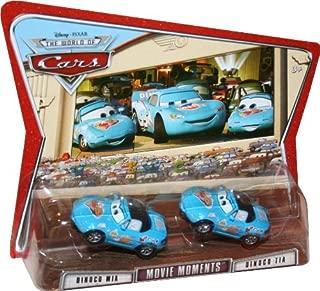 Movie Moments DINOCO MIA & DINOCO TIA Disney / Pixar CARS 1:55 Scale Die-Cast Vehicle 2 Pack