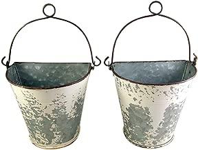 Best galvanized hanging bucket planter Reviews