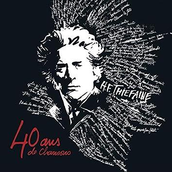 40 ans de chansons