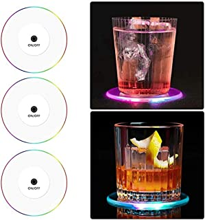 Best led drink coasters Reviews