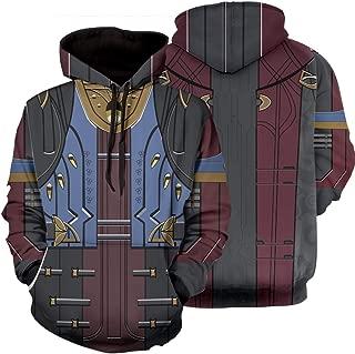 Men's Destiny 2 Forsaken Sweatshirts Hoodie The Great Hunt Game Pullover Cosplay